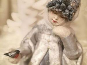 Снегурочка на Искусство Куклы с 15 по 17 декабря 2017 г.. Ярмарка Мастеров - ручная работа, handmade.
