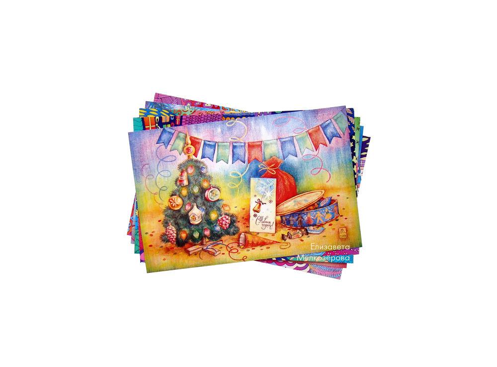 сладости конфеты подарки, графика цветные карандаши, дочке сыну ребенку