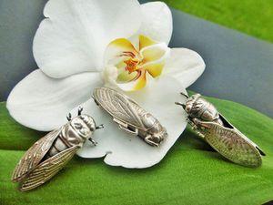 В мой магaзин снова прилетели цикады, но не все! | Ярмарка Мастеров - ручная работа, handmade