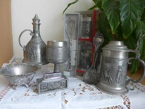 Распродажа оловянной посуды. Ярмарка Мастеров - ручная работа, handmade.