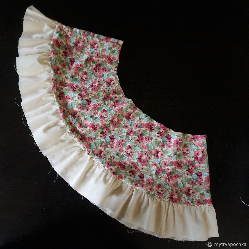 юбка с оборками