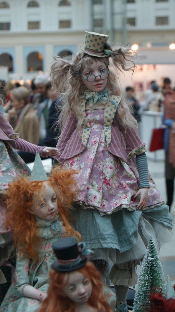 Выставка «Искусство куклы» в Гостином дворе, фото № 1