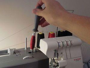 Наматываем нитку на катушку с помощью швейной машины. Ярмарка Мастеров - ручная работа, handmade.