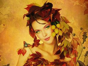Распродажа Осенняя женщина- скидки до 50%!!!! до 20 октября. Ярмарка Мастеров - ручная работа, handmade.