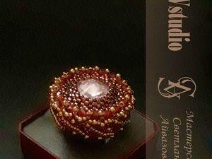 Коктейльное кольцо – знак жизни в удовольствие   Ярмарка Мастеров - ручная работа, handmade