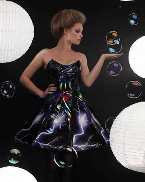 платья светящиеся