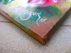 Как быстро и аккуратно оформить углы при натяжке холста галерейным способом. Ярмарка Мастеров - ручная работа, handmade.