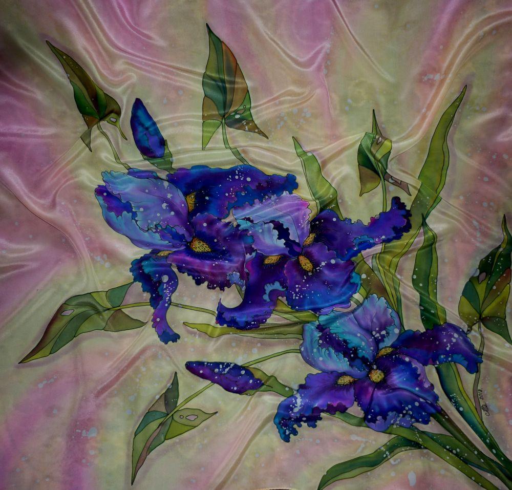 платок батик