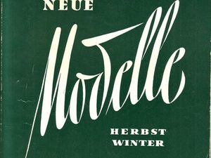 Немецкий каталог мод  «Neue Modell» , Осень/зима 1957-58 гг. Ярмарка Мастеров - ручная работа, handmade.