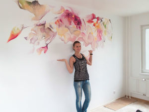 Роспись стен в СПб за 990 руб. за м.кв. До 27.06.18. Ярмарка Мастеров - ручная работа, handmade.