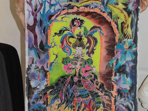 Мастер-класс по Батику ВОСКРЕСЕНЬЕ 16 октября 12-00. Горячий батик. | Ярмарка Мастеров - ручная работа, handmade