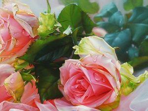 Несущая вдохновение: роза в современной живописи. Ярмарка Мастеров - ручная работа, handmade.