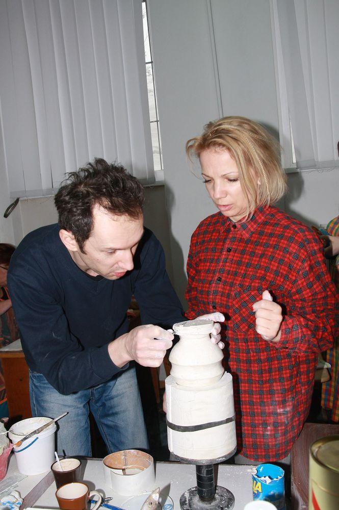 гипсомодельное дело, керамика ручной работы