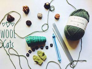 Учимся вязать варежки. Часть 1. Ярмарка Мастеров - ручная работа, handmade.