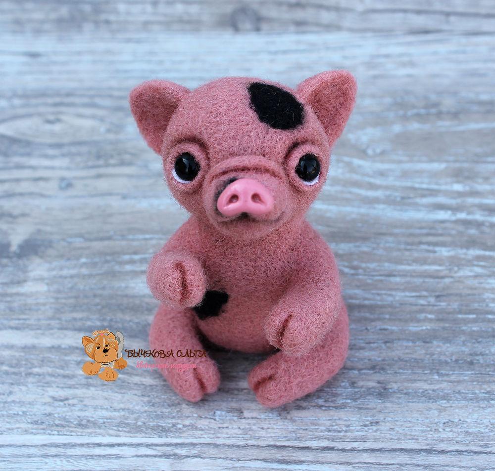 мк в москве, бычкова ольга, год свиньи, свинья игрушка, хрюня