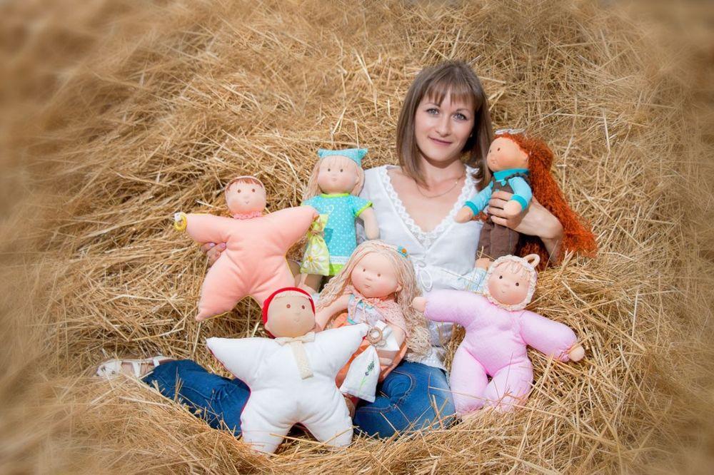 куклы и игрушки, текстильные куклы