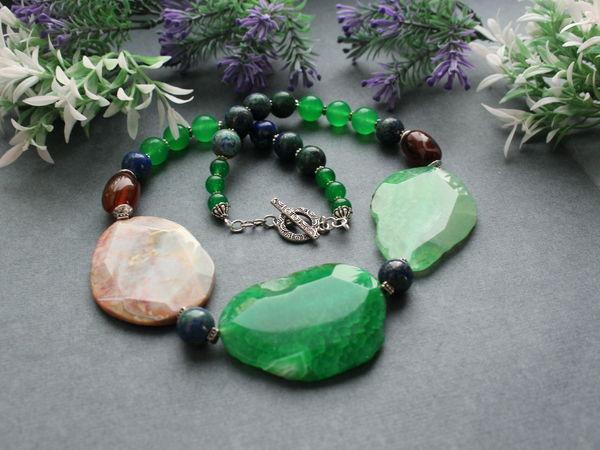 Скидки на украшения из натуральных камней   Ярмарка Мастеров - ручная работа, handmade