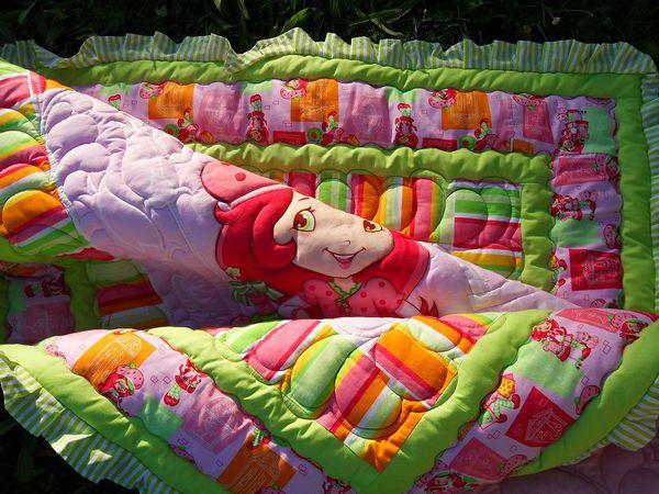 Одеялко для доченьки Елены | Ярмарка Мастеров - ручная работа, handmade