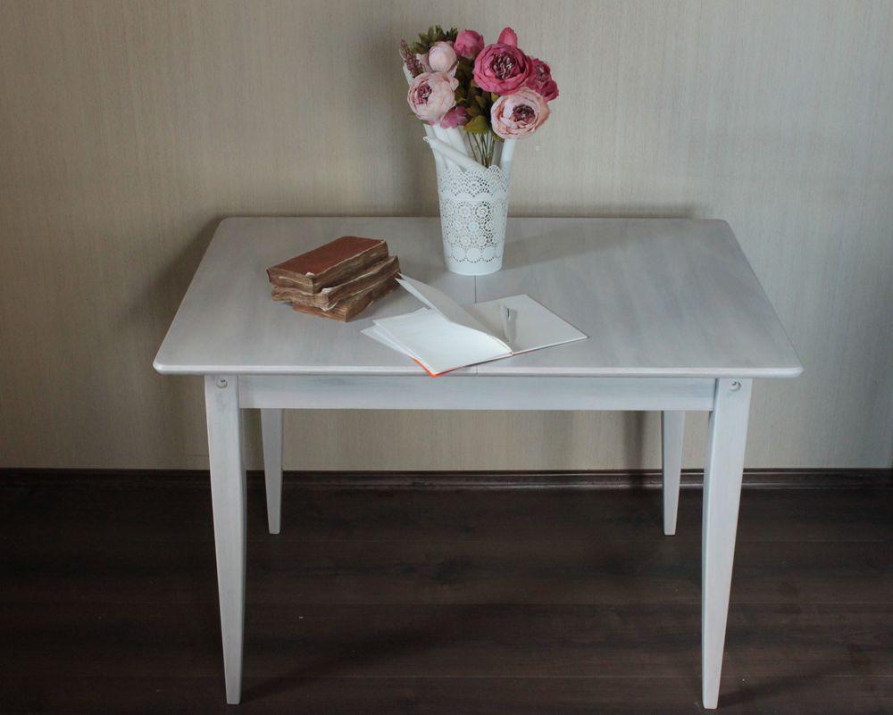 перекраска стола, декорирование мебели