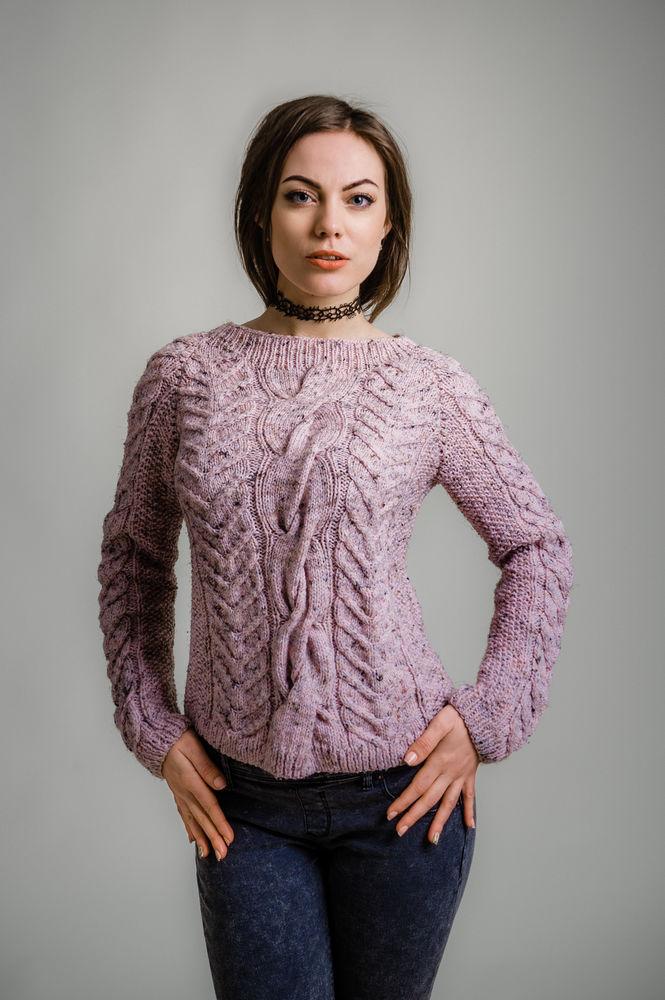 заказать свитер, подарок девушке, розовый