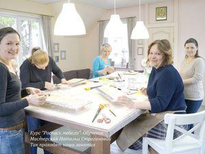 роспись мебели обучение, обучение росписи мебели