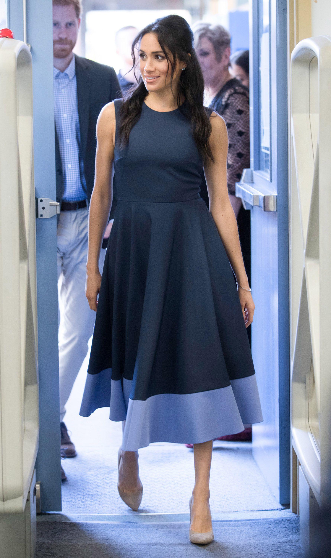 Бирюзовое Платье Меган Маркл