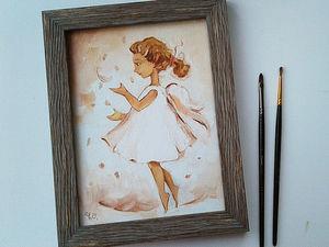 """Аукцион маленьких картин """"Кому счастья?""""Уже завтра!. Ярмарка Мастеров - ручная работа, handmade."""