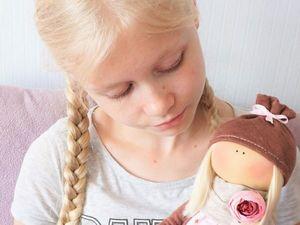 Наша куколка от Алеси!. Ярмарка Мастеров - ручная работа, handmade.