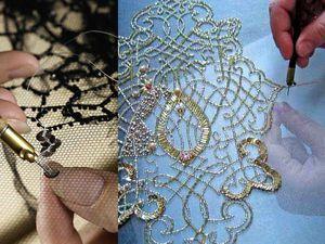 История возникновения люневильской вышивки | Ярмарка Мастеров - ручная работа, handmade
