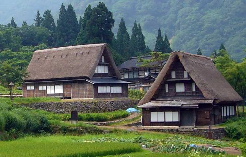 японский дом, японская культура