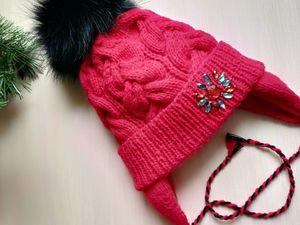Зима близко. детские шапочки,комплекты. Ярмарка Мастеров - ручная работа, handmade.