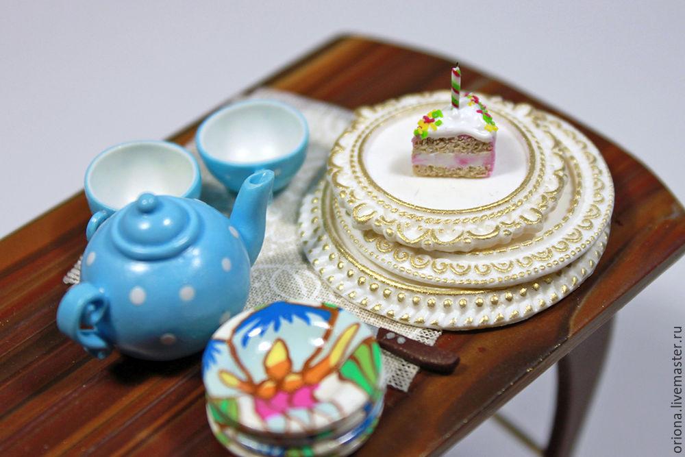 десерт, полимерная глина