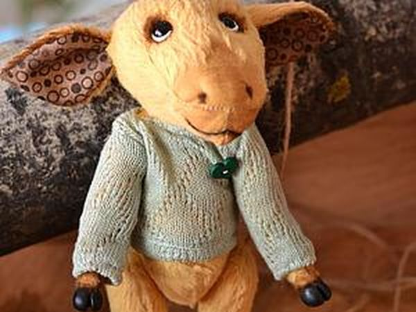 Sewing a Sweater for a Teddy. Livemaster - handmade