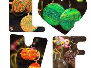 Новые украшения в нашем втором магазине | Ярмарка Мастеров - ручная работа, handmade
