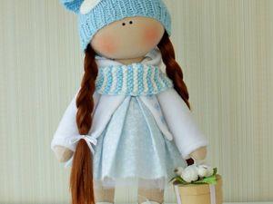Видео мастер-класс: шьем текстильную куклу. Часть 1. Раскрой и набивка деталей. Ярмарка Мастеров - ручная работа, handmade.