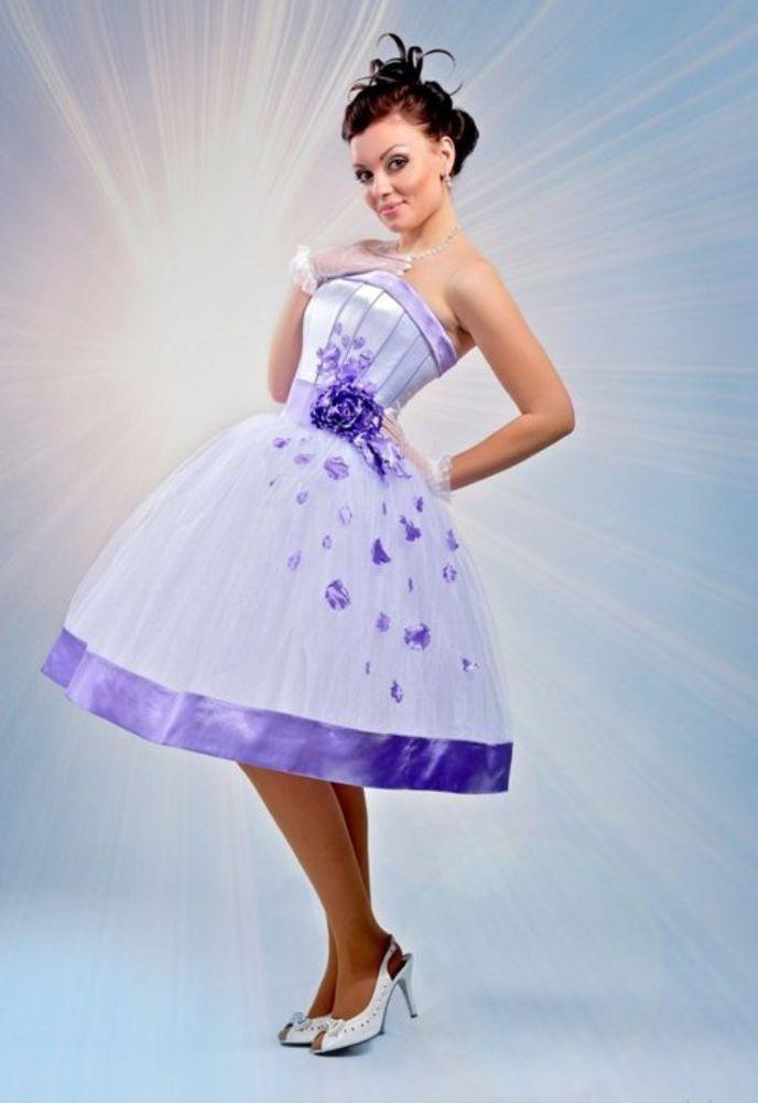 Платье для выпускного в стиле стиляг