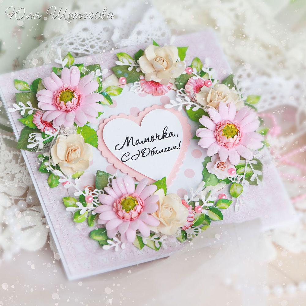 Пожеланием здоровья, открытки маме скрапбукинг фото