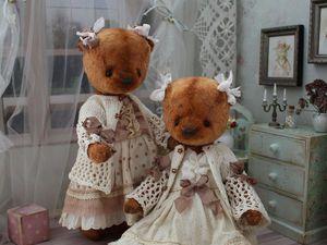Сестрёнки Оля и Яло | Ярмарка Мастеров - ручная работа, handmade
