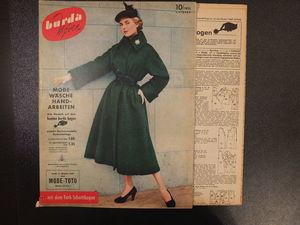 Burda moden 10/1953 Бурда моден. Ярмарка Мастеров - ручная работа, handmade.