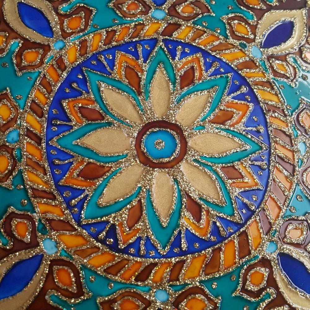 Роспись по керамической плитке своими руками мастер класс 96