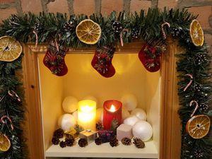 Создаем яркую новогоднюю гирлянду для домашнего декора. Ярмарка Мастеров - ручная работа, handmade.