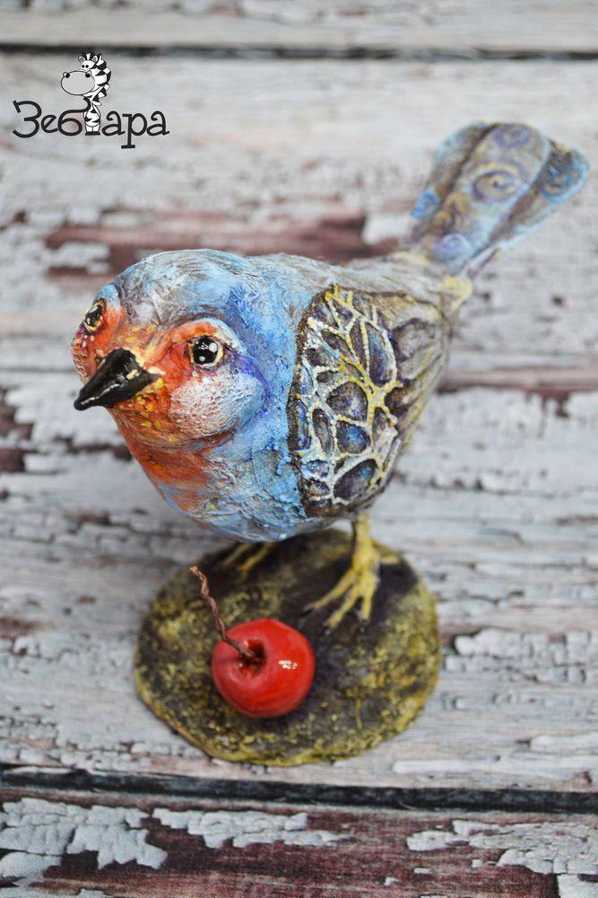 птичка зарянка