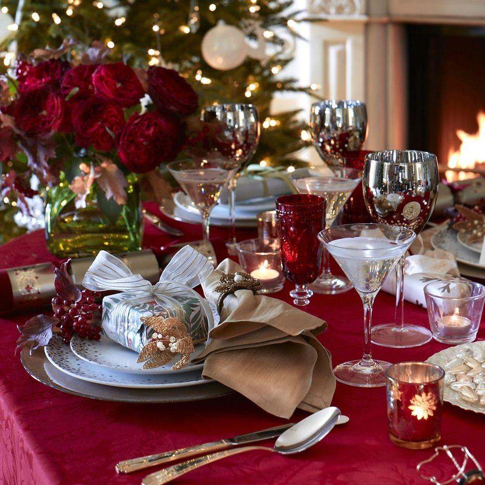 Новогодние картинки столов