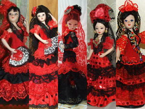 Испанка, танцующая фламенко, особенности испанского костюма. Ярмарка Мастеров - ручная работа, handmade.