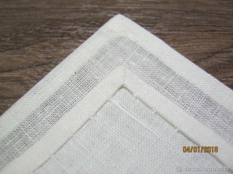 Making Handkerchiefs with Tatting Lace, фото № 16