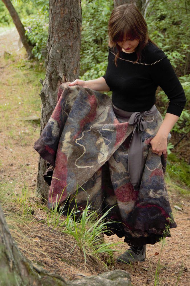 длинная юбка, юбка макси