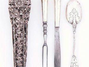 Столовое серебро. Часть 2. Традиции и этикет. Ярмарка Мастеров - ручная работа, handmade.