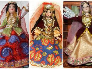 Мои куклы в азербайджанском костюме. Ярмарка Мастеров - ручная работа, handmade.
