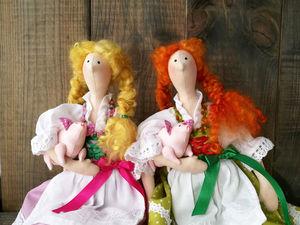 Новые куколки. Ярмарка Мастеров - ручная работа, handmade.