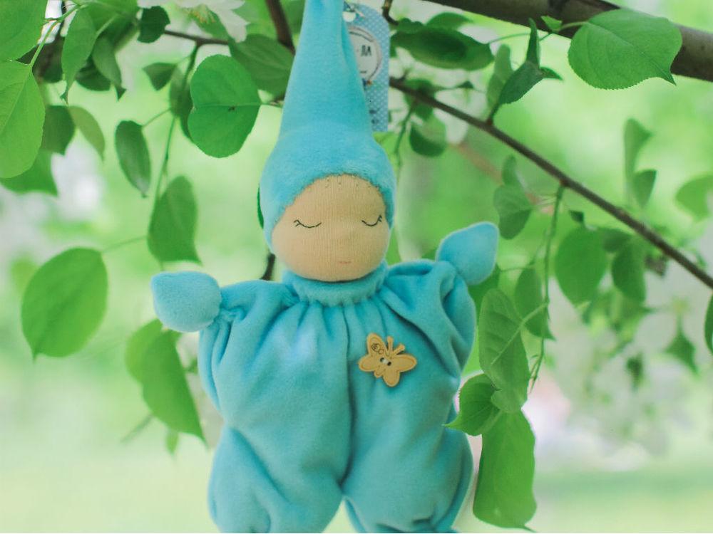 мк вальдорфской куклы, сшить куклу